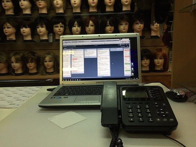 Система обработки заказов магазина Випхаир