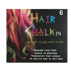 Мелки для волос Hair Chalk in 6