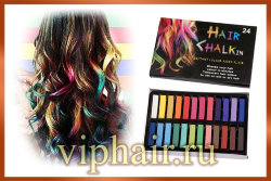 Мелки для волос Hair Chalk in 24